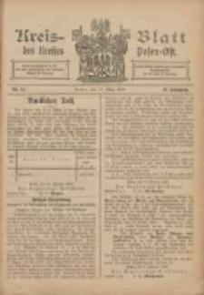 Kreis-Blatt des Kreises Posen-Ost 1906.03.17 Jg.18 Nr11