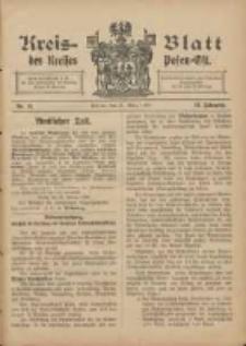 Kreis-Blatt des Kreises Posen-Ost 1906.03.31 Jg.18 Nr13