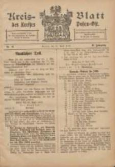 Kreis-Blatt des Kreises Posen-Ost 1906.04.21 Jg.18 Nr16