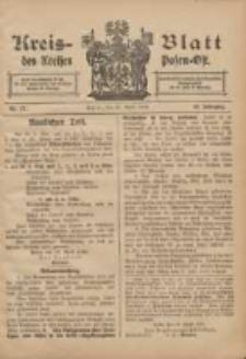 Kreis-Blatt des Kreises Posen-Ost 1906.04.28 Jg.18 Nr17