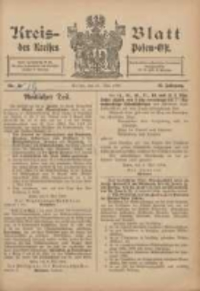 Kreis-Blatt des Kreises Posen-Ost 1906.05.12 Jg.18 Nr19
