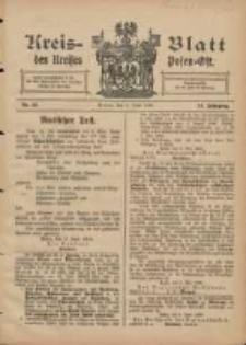 Kreis-Blatt des Kreises Posen-Ost 1906.06.09 Jg.18 Nr23