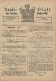 Kreis-Blatt des Kreises Posen-Ost 1906.06.16 Jg.18 Nr24