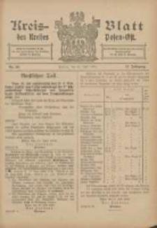 Kreis-Blatt des Kreises Posen-Ost 1906.07.21 Jg.18 Nr30