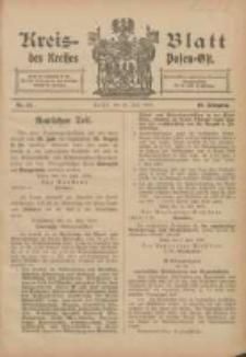 Kreis-Blatt des Kreises Posen-Ost 1906.07.28 Jg.18 Nr31