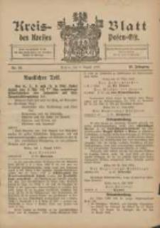 Kreis-Blatt des Kreises Posen-Ost 1906.08.04 Jg.18 Nr32