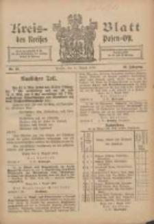 Kreis-Blatt des Kreises Posen-Ost 1906.08.11 Jg.18 Nr33