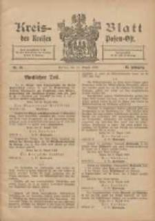 Kreis-Blatt des Kreises Posen-Ost 1906.08.18 Jg.18 Nr34