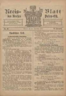 Kreis-Blatt des Kreises Posen-Ost 1906.09.22 Jg.18 Nr39