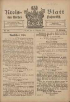 Kreis-Blatt des Kreises Posen-Ost 1906.09.29 Jg.18 Nr40