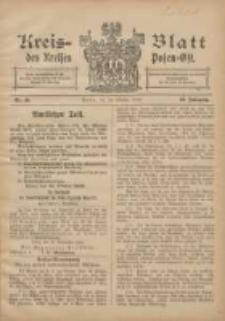 Kreis-Blatt des Kreises Posen-Ost 1906.10.20 Jg.18 Nr43