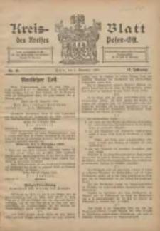 Kreis-Blatt des Kreises Posen-Ost 1906.11.03 Jg.18 Nr45
