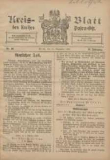 Kreis-Blatt des Kreises Posen-Ost 1906.11.10 Jg.18 Nr46