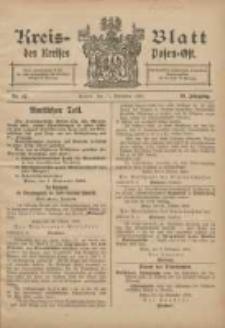 Kreis-Blatt des Kreises Posen-Ost 1906.11.17 Jg.18 Nr47