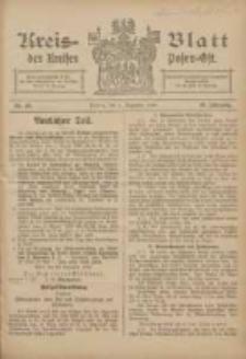 Kreis-Blatt des Kreises Posen-Ost 1906.12.01 Jg.18 Nr49