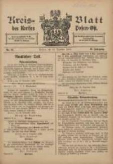 Kreis-Blatt des Kreises Posen-Ost 1906.12.15 Jg.18 Nr51