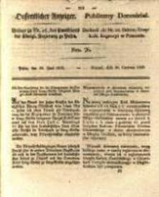 Oeffentlicher Anzeiger. 1829.06.30 Nro.26
