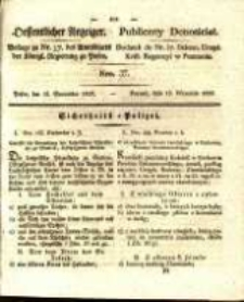Oeffentlicher Anzeiger. 1829.09.15 Nro.37
