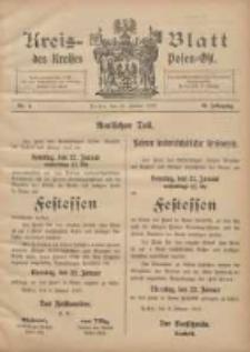 Kreis-Blatt des Kreises Posen-Ost 1907.01.19 Jg.19 Nr4