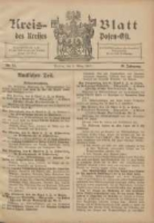 Kreis-Blatt des Kreises Posen-Ost 1907.03.06 Jg.19 Nr11