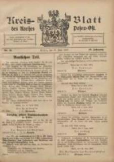 Kreis-Blatt des Kreises Posen-Ost 1907.06.15 Jg.19 Nr25