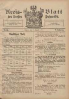 Kreis-Blatt des Kreises Posen-Ost 1907.08.17 Jg.10 Nr34