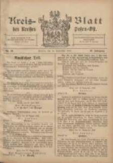 Kreis-Blatt des Kreises Posen-Ost 1907.09.14 Jg.19 Nr40