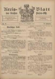 Kreis-Blatt des Kreises Posen-Ost 1907.11.09 Jg.19 Nr48