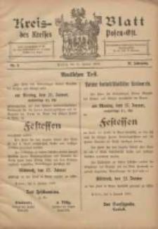 Kreis-Blatt des Kreises Posen-Ost 1908.01.11 Jg.20 Nr2