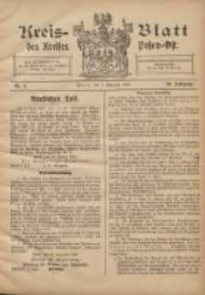 Kreis-Blatt des Kreises Posen-Ost 1908.02.01 Jg.20 Nr5