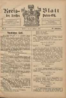 Kreis-Blatt des Kreises Posen-Ost 1908.02.22 Jg.20 Nr8