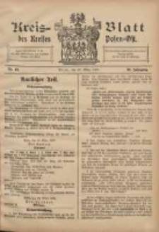 Kreis-Blatt des Kreises Posen-Ost 1908.03.28 Jg.20 Nr13