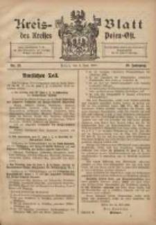 Kreis-Blatt des Kreises Posen-Ost 1908.06.06 Jg.20 Nr23