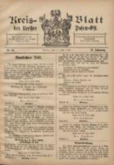 Kreis-Blatt des Kreises Posen-Ost 1908.06.13 Jg.20 Nr25