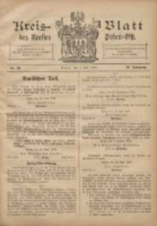 Kreis-Blatt des Kreises Posen-Ost 1908.07.04 Jg.20 Nr28