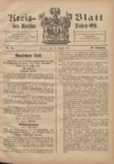 Kreis-Blatt des Kreises Posen-Ost 1908.08.22 Jg.20 Nr36