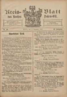 Kreis-Blatt des Kreises Posen-Ost 1908.11.14 Jg.20 Nr48