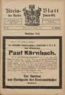 Kreis-Blatt des Kreises Posen-Ost 1908.11.28 Jg.20 Nr50