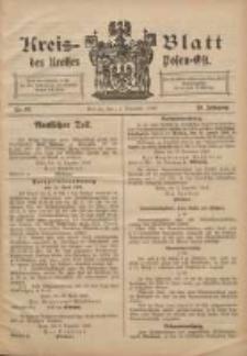 Kreis-Blatt des Kreises Posen-Ost 1908.12.12 Jg.20 Nr52