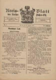 Kreis-Blatt des Kreises Posen-Ost 1910.01.29 Jg.22 Nr5