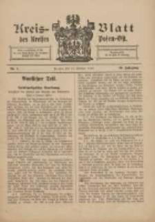 Kreis-Blatt des Kreises Posen-Ost 1910.02.12 Jg.22 Nr7