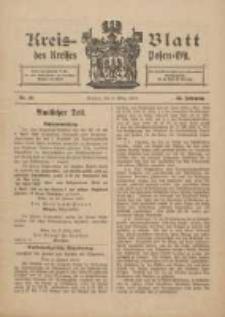 Kreis-Blatt des Kreises Posen-Ost 1910.03.05 Jg.22 Nr10