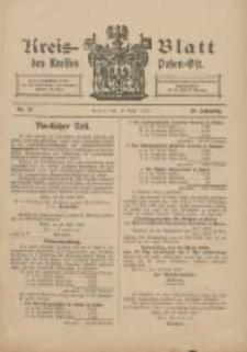 Kreis-Blatt des Kreises Posen-Ost 1910.04.14 Jg.22 Nr16