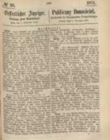 Oeffentlicher Anzeiger. 1871.09.05 Nro.36
