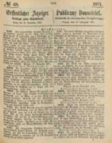 Oeffentlicher Anzeiger. 1871.11.28 Nro.48
