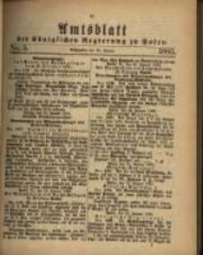 Amtsblatt der Königlichen Regierung zu Posen. 1883.01.30 Nro.5