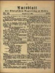 Amtsblatt der Königlichen Regierung zu Posen. 1883.03.06 Nro.10