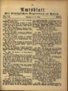 Amtsblatt der Königlichen Regierung zu Posen. 1883.03.27 Nro.13