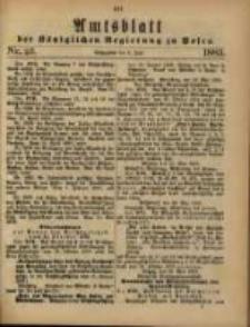 Amtsblatt der Königlichen Regierung zu Posen. 1883.06.05 Nro.23