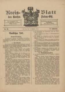 Kreis-Blatt des Kreises Posen-Ost 1910.10.08 Jg.22 Nr42